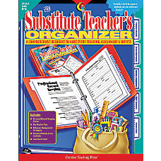 Creative Teaching Press Substitute Teachers Organizer