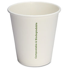 Genuine Joe Compostable Paper Hot Cups