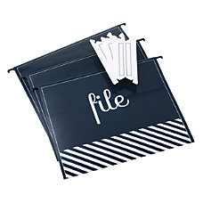 See Jane Work Herringbone Hanging File