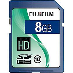 Fujifilm 600008927 8 GB SDHC