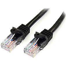 StarTechcom Snagless Cat5e UTP Patch Cable