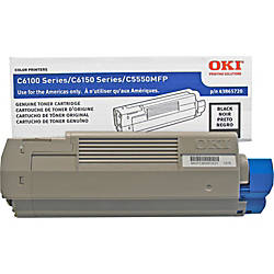 OKI 43865720 Black Toner Cartridge