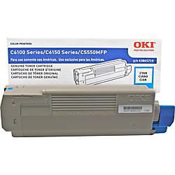 OKI 43865719 Cyan Toner Cartridge