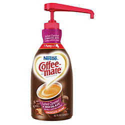 Nestl Coffeemate Concentrated Salted Caramel Liquid