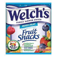 Welchs Fruit Snacks 5 Oz Bag