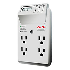 APC SurgeArrest Essential 4 Outlet Wall
