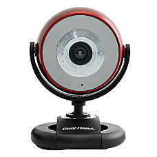 Gear Head Quick WCF2750HDRED CP10 Webcam