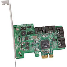 HighPoint 4 Channel PCI Express x1