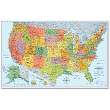 Rand McNally Advantus US Wall Map