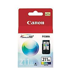 Canon CL 211XL Tricolor Ink Cartridge