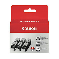 Canon PGI 220 Black Ink Cartridges