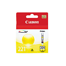 Canon CLI 221Y ChromaLife 100 Yellow