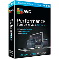 AVG Performance 2 Year Subscription For