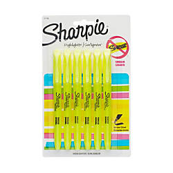 Sharpie Accent Pocket Highlighters Yellow Pack