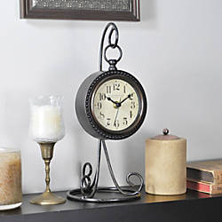 FirsTime Charmed Tabletop Clock 12 14