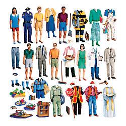 Little Folk Visuals Community Helpers Flannel