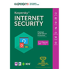 Kaspersky Internet Security 2016 For 3