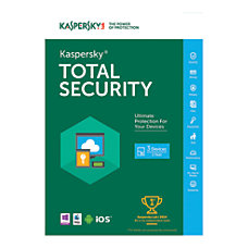 Kaspersky Total Security 2016 For 5