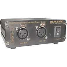 Nady 2 Channel 48V Phantom Power