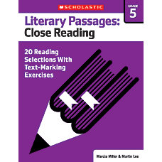 Scholastic Literary Passages Close Reading Workbook