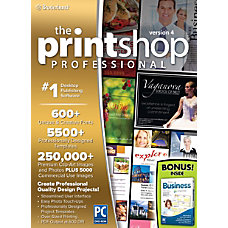 The Print Shop Professional 40 With