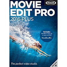 MAGIX Movie Edit Pro 2016 Plus