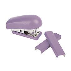 Office Depot Brand Mini Stapler Purple