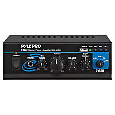 Pyle PTAU23 Amplifier 40 W RMS