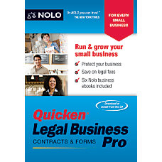Quicken Legal Business Pro 2016 Traditional