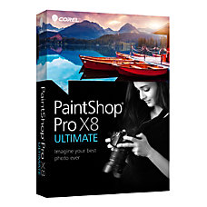 Corel Paint Shop Pro X8 Ultimate