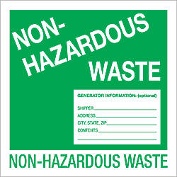 Tape Logic Preprinted Labels Non Hazardous