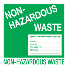 Tape Logic Preprinted Labels Non Hazardous