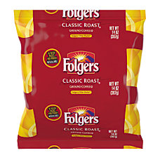 Folgers Classic Roast Regular Filter Packs