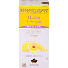 Bigelow I Love Lemon Tea Bags