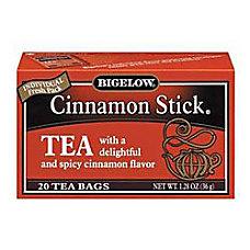 Bigelow Cinnamon Stick Herbal Tea Bags