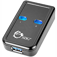 SIIG 2 port USB Switch