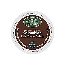 Green Mountain Coffee Colombian Fair Trade