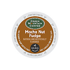 Green Mountain Coffee Mocha Nut Fudge