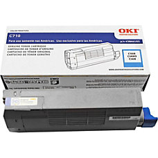 OKI 43866103 Cyan Toner Cartridge
