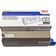 OKI 43866104 Black Toner Cartridge