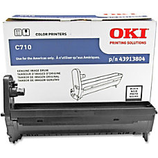 OKI 43913804 Black Drum Unit
