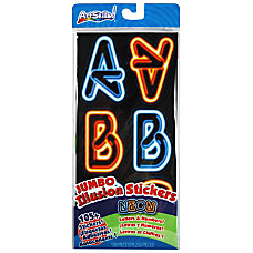 ArtSkills Neon Stickers Assorted Pack Of