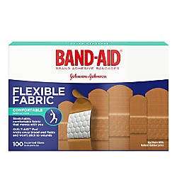 Band Aid Brand Flexible Fabric Bandages