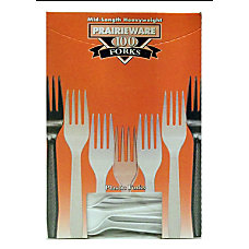 Prairie Polystyrene Forks White Box Of