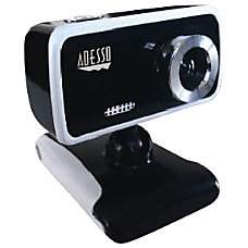Adesso CyberTrack V1 Webcam 03 Megapixel