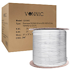 Vonnic Coaxial Video Cable