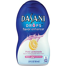 Dasani Drops Pink Lemonade 19 Oz