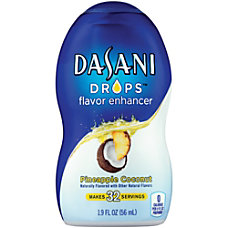 Dasani Drops Pineapple Coconut 19 Oz