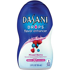 Dasani Drops Mixed Berry 19 Oz
