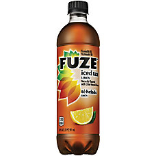 Fuze Tea With Lemon 20 Oz